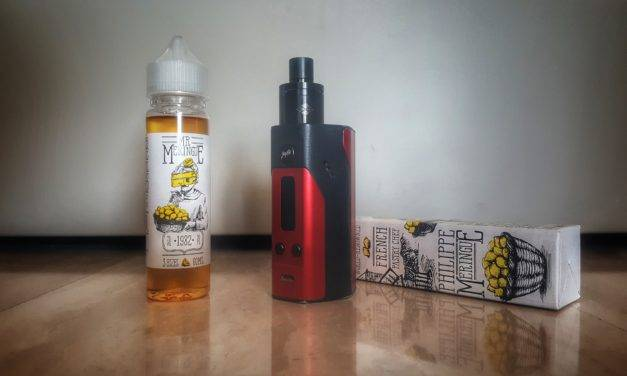 Lemon Curd Mr. Meringue (Charlie's Chalk Dust E Juice)