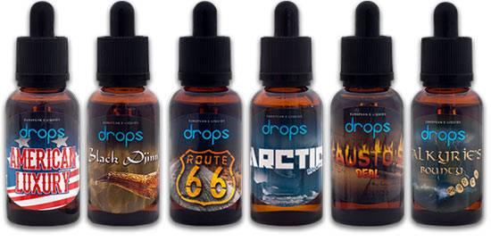 drops signature eliquids