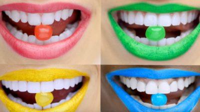 caramelle frutta bocca