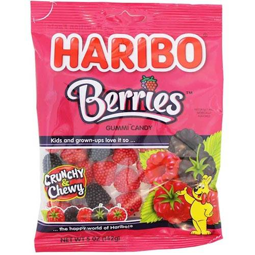 Haribo Berries Candy