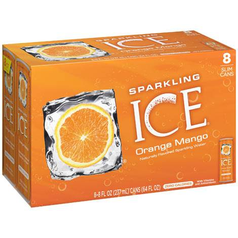 ICE orangemango water