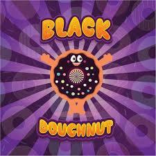 black doughnut