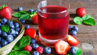 bibita frutti rossi