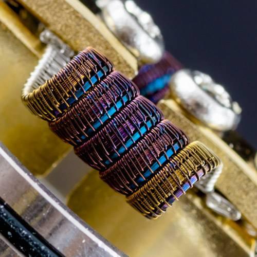 framed of pitchfork coil