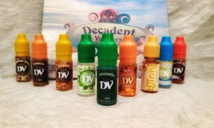 DECADENT VAPOURS – Gli E-liquid Top Sellers –
