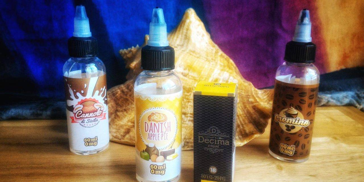 Danish Apple Pie (Decima liquid)