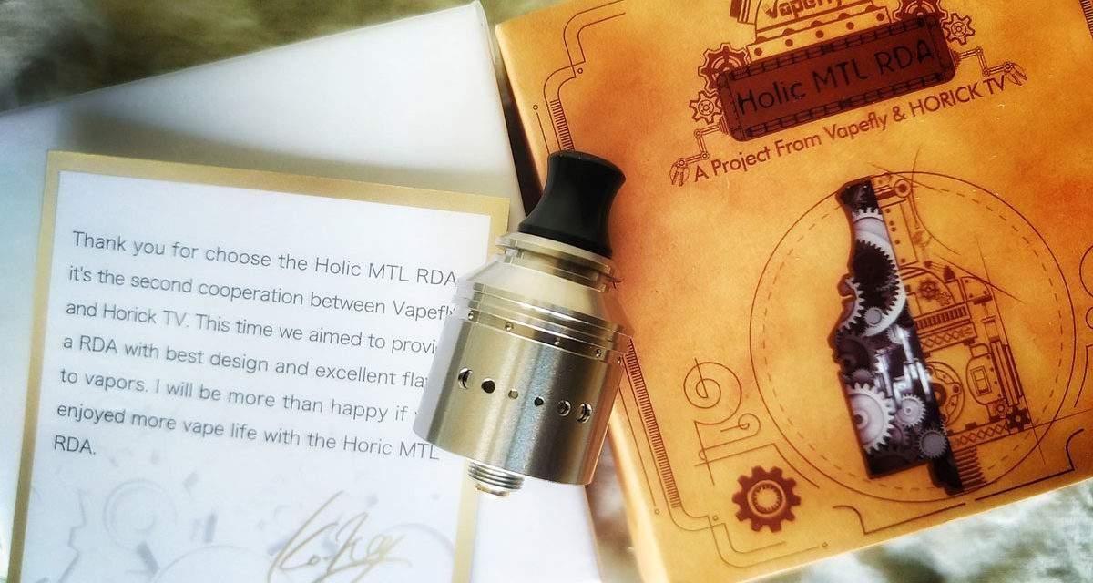 Holic MTL RDA (Vapefly)