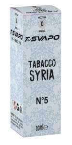 T Svapo Syria packaging