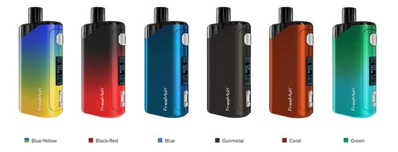 FreeMax Autopod50 colors