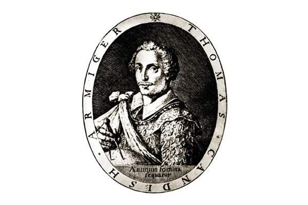 Sir Thomas Cavendish ritratto