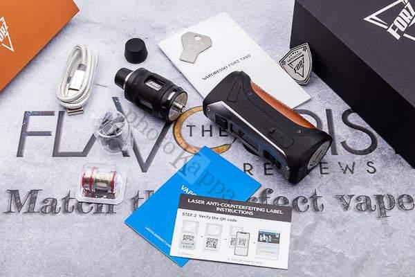 Vaporesso Forz TX80 confezione