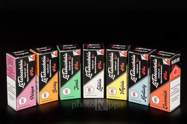 La Tabaccheria Black Line liquidi pronti TPD