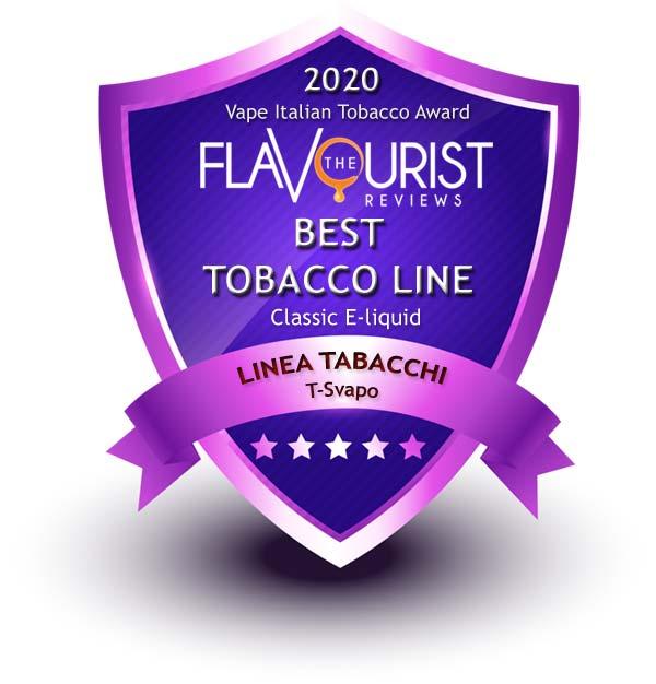 Linea Tabacchi T-Svapo The Flavourist premio 2020