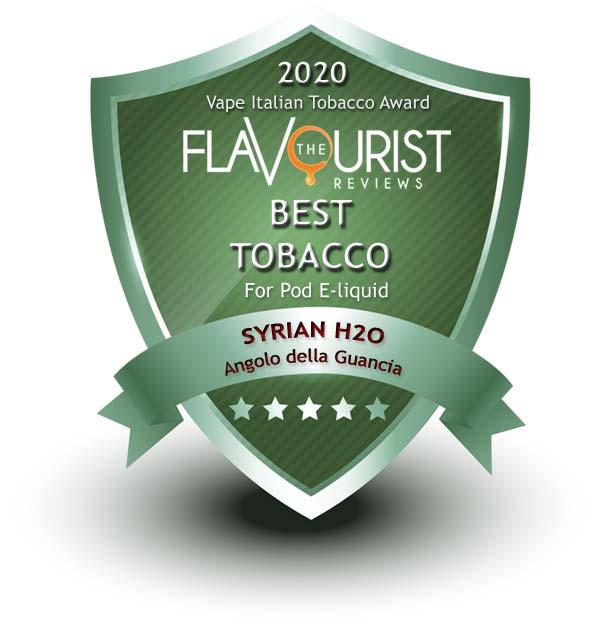 Syrian H2O Angolo della Guancia The Flavourist premio 2020
