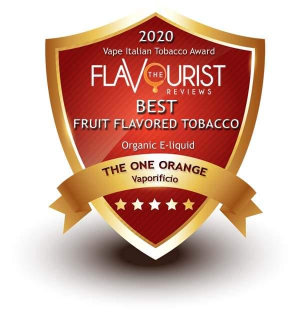 The One Orange Vaporificio The Flavourist premio 2020