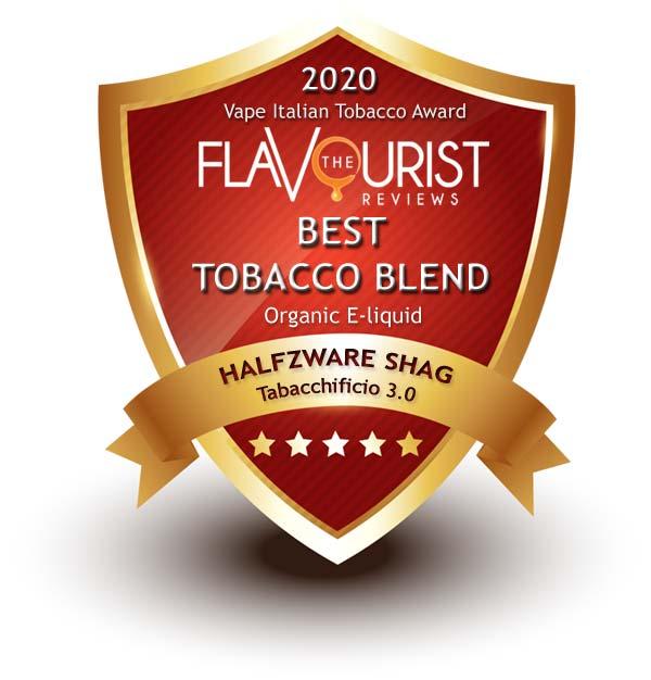 Halfzware Shag Tabacchificio 3.0 The Flavourist premio 2020
