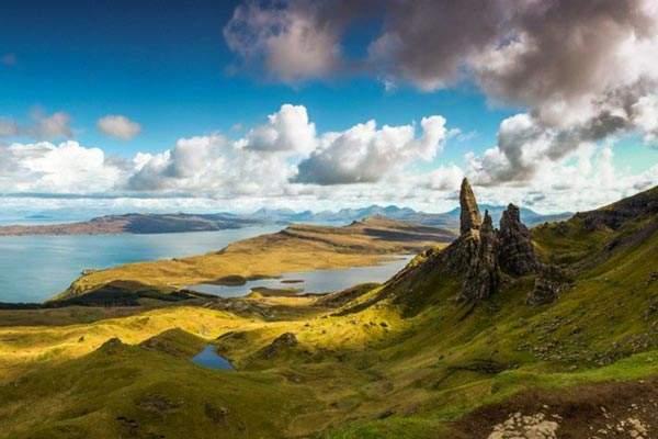 Highlands paesaggio
