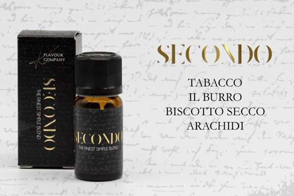 Secondo K Flavour Company boccetta aroma