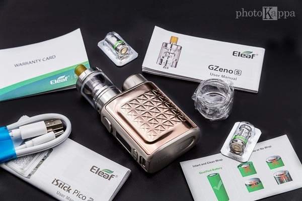 Eleaf iStick Pico 2 Kit contenuto confezione