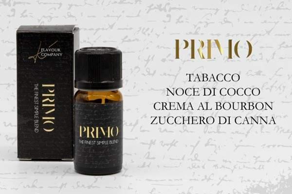 K Flavour Company Aroma Primo boccetta con descrizione