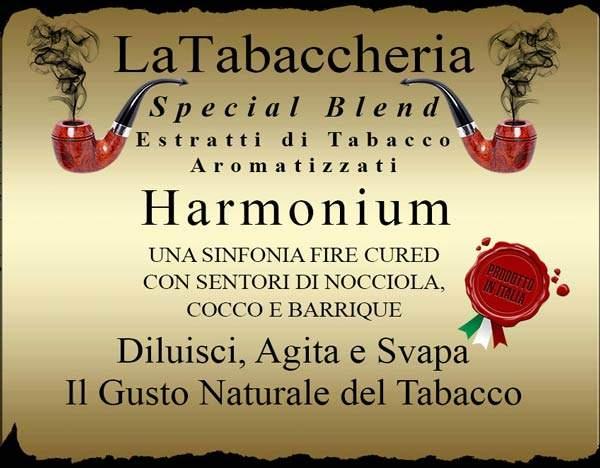 Aroma Harmonium etichetta